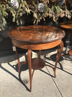 Occasional Table with Inlay