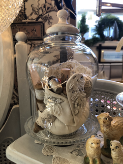 Decorative Vintage Cloche and Notions