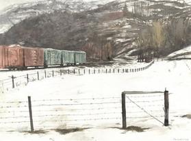Foggy Trains