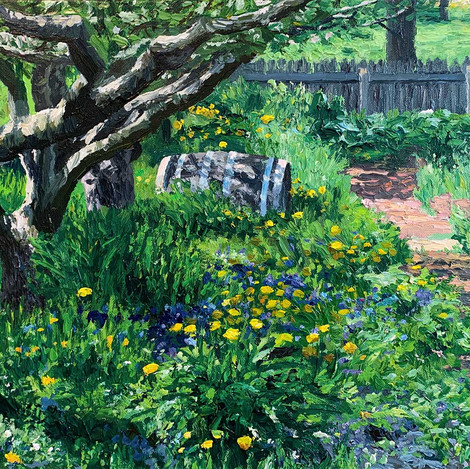 In the Dundurn Garden #4 (Pollinators)