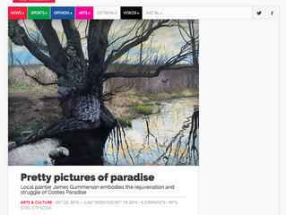 Latest article in the Silhouette( Pretty pictures of paradise )