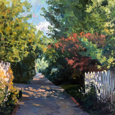 Down the Alley (Late Summer)