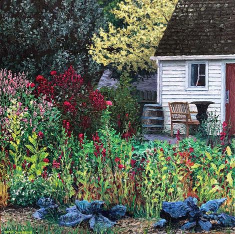 In the Dundurn garden #3