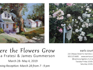 "New Exhibition March 28th - ""Where The Flowers Grow"""