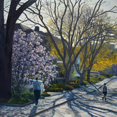 City Garden #7 (Stanley street) Available at Earls Court Gallery