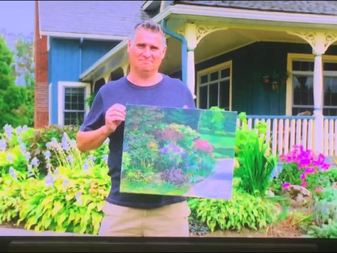 Wildcard winner of episode 1 of Landscape artist of the year Canada.