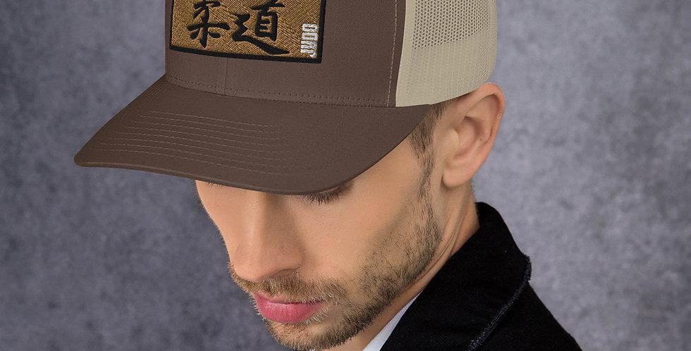 Kanji Gold Mesh Trucker