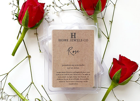 Rose Scented Wax Melts
