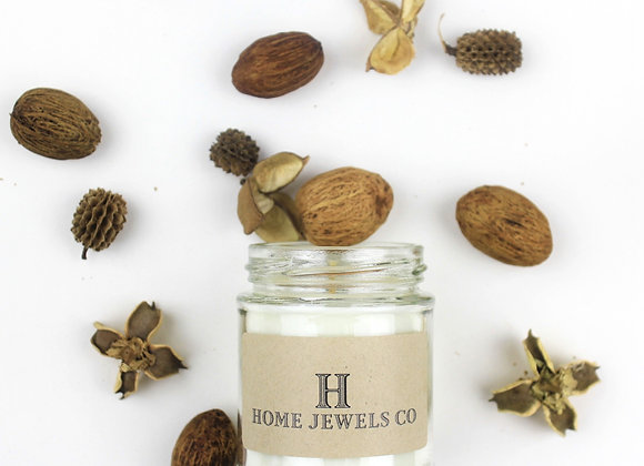 Home jewels Co Tobacco and Oak Soy Candle