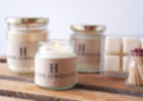 High-quality, low toxic soy candles and wax melts.