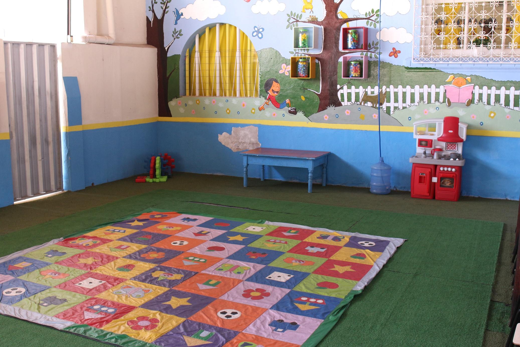 Área de lazer pedagógico
