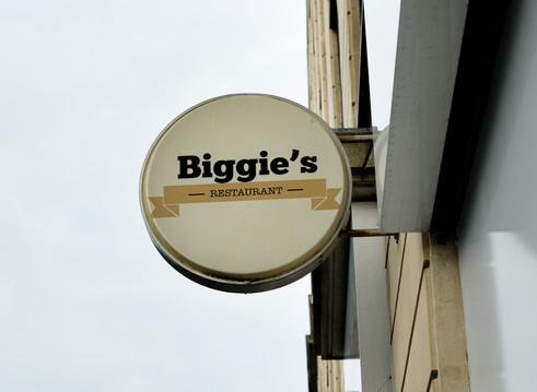Logo Biggie's.
