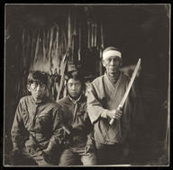 Three generations of blacksmiths