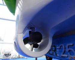Hula boat motor