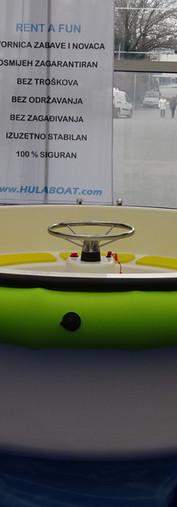 HULA BOAT green power boat