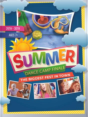 July 26th-30th Ages 7+ Summer Finale Challenge Week Dance Camp FUN FUN FUN!!!!