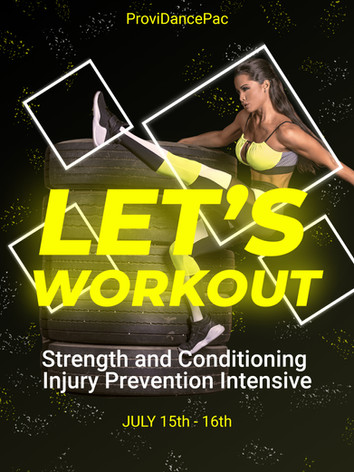 July 15th 16th  Age 12+ Strength and Conditioning Injury Prevention Intensive