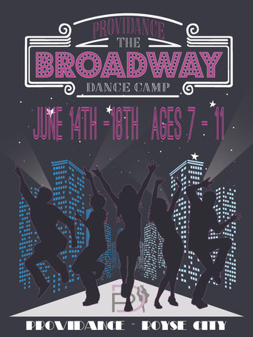 June 14th- 18th Ages 7-11 Best of Broadway Dance Camp