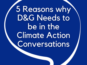 5 Reasons why Dumfries & Galloway Needs to be in the Climate Action Conversations