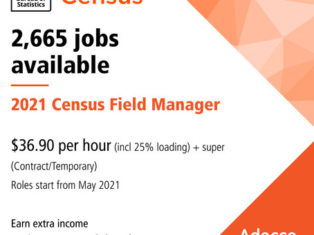 Census Employment Opportunity