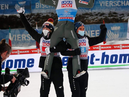 Kamil Stoch wins the Four Hills Tournament for a 3rd time