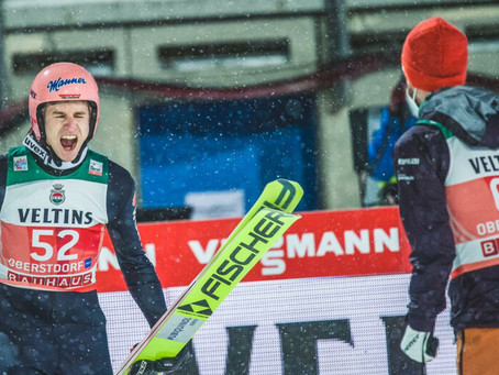 Karl Geiger wins the opening competition in Oberstdorf