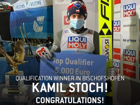 Kamil Stoch takes the victory in Bischofshofen's qualification