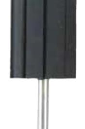 Rubber holder jokeFlex, cylinder, s.-Ø 3 x 25 mm, Ø 10 x 15 mm