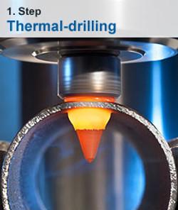 Thermal-drilling
