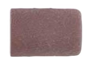 Abrasive caps jokeFlex, cylinder, corundum, Ø 12 x 15 mm, grit 80, PU = 100 pcs.