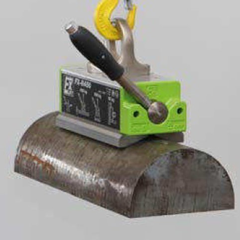 Round lifting magnetic