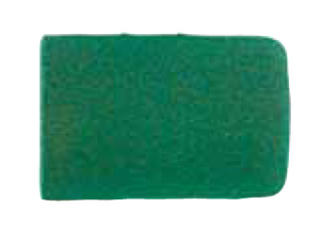 Abrasive caps jokeFlex, cylinder, corundum green, Ø 7 x 10 mm, grit 150, PU = 10