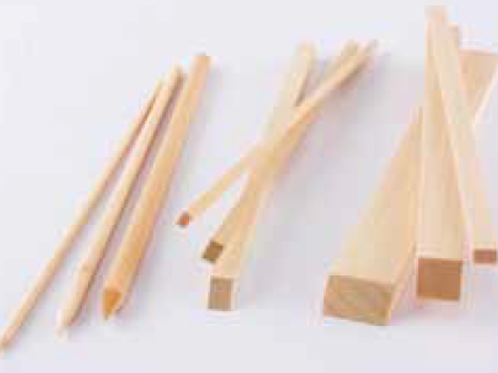 Wooden lapping stick, soft (variable sizes)