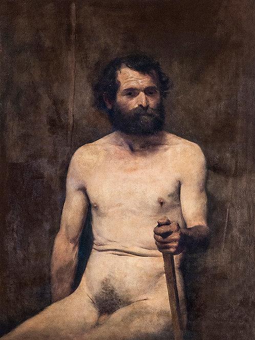 Por que  o Nu masculino com o bastão de Eliseu Visconti é uma tela moderna?