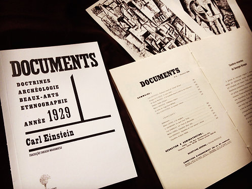 Documents, 1929 [Carl Einstein]