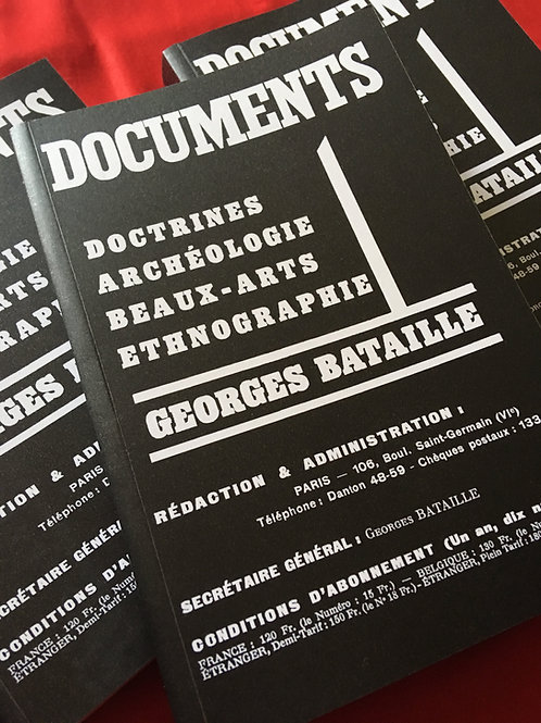 Documents | Georges Bataille