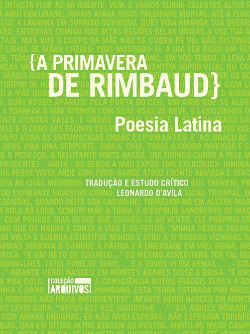 A primavera de Rimbaud: poesia latina