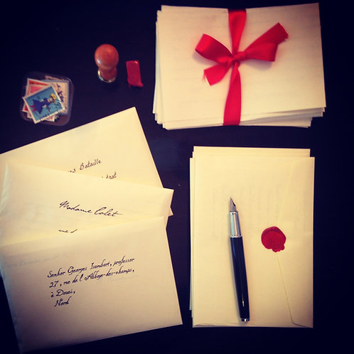 Cartas de Rimbaud, Mallarmé, Flaubert, Artaud, Ducasse e Colette Peignot