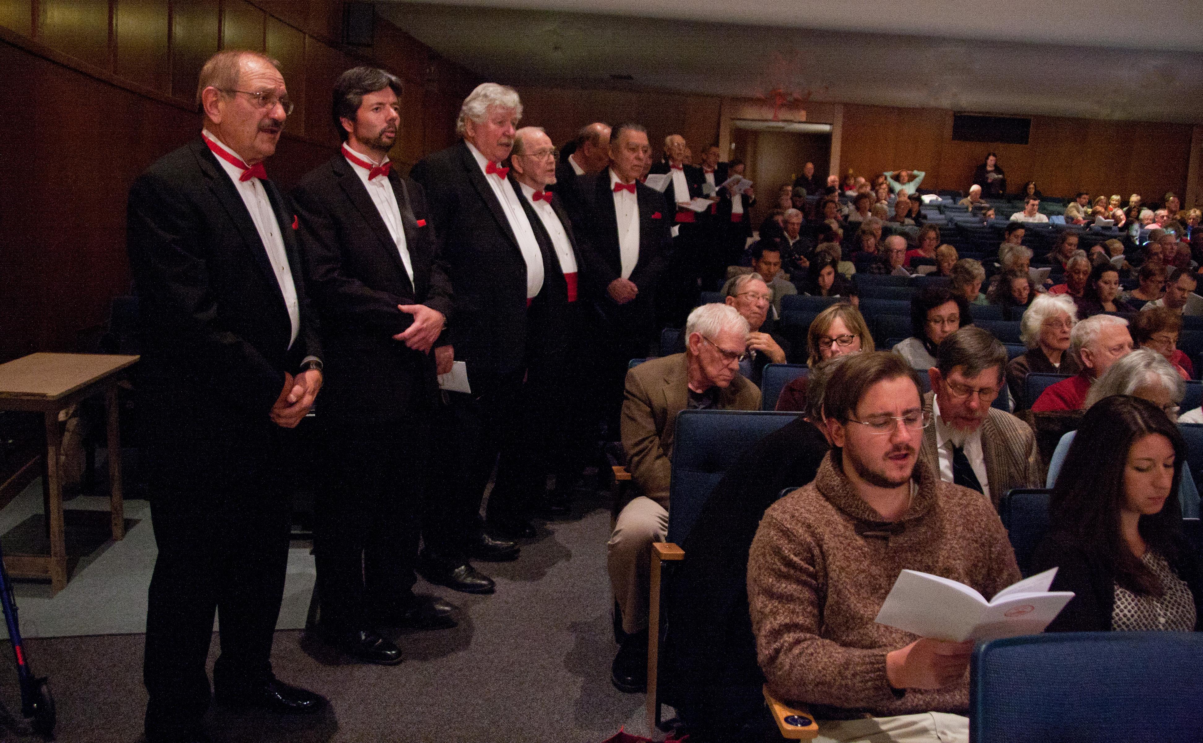 HuntingtonMen'sChorus Fall Concert2013   #168 12-7-13  ByGregCatalano