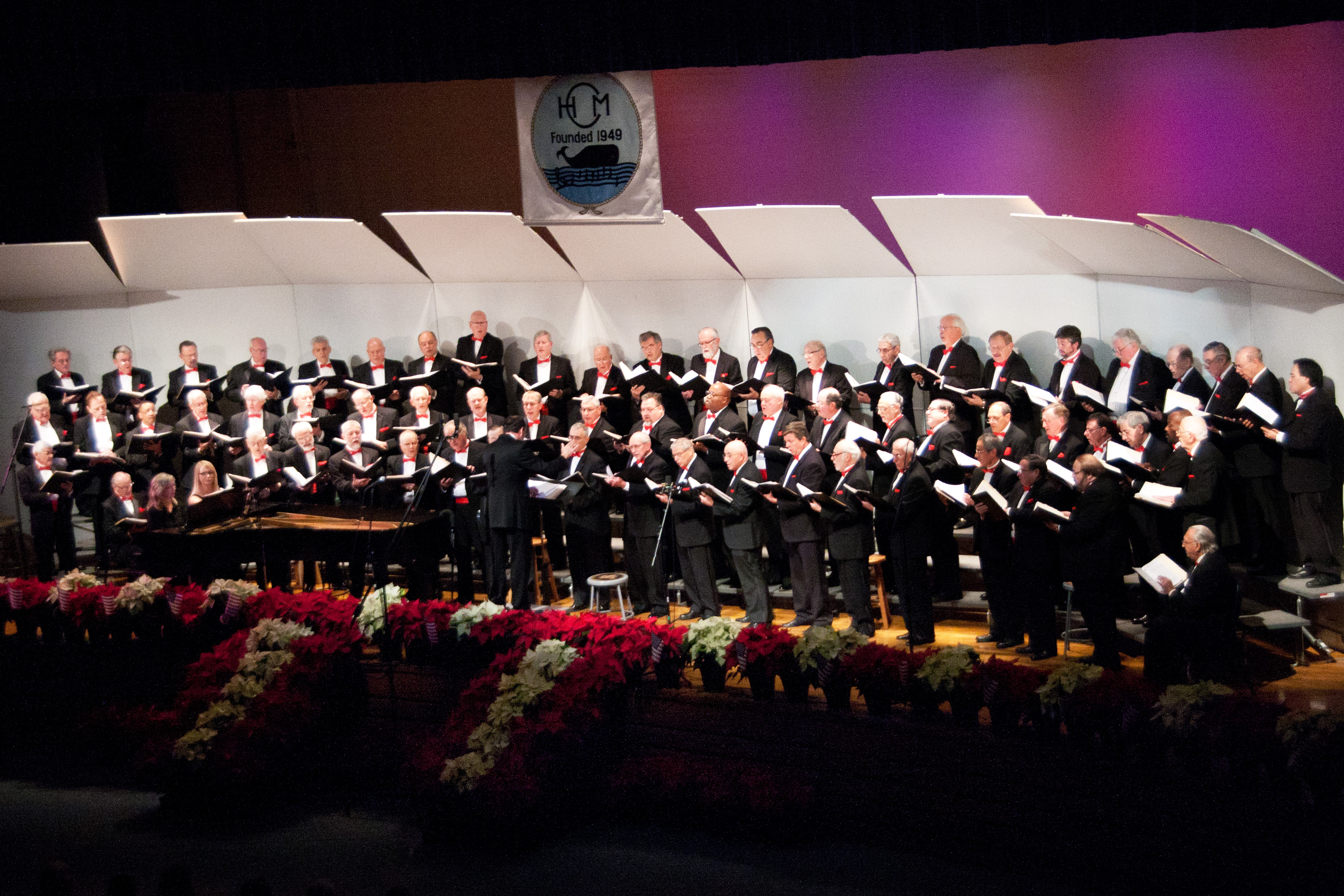 Huntington Men'sChorus Fall Concert2013   #36  12-7-13  ByGregCatalano