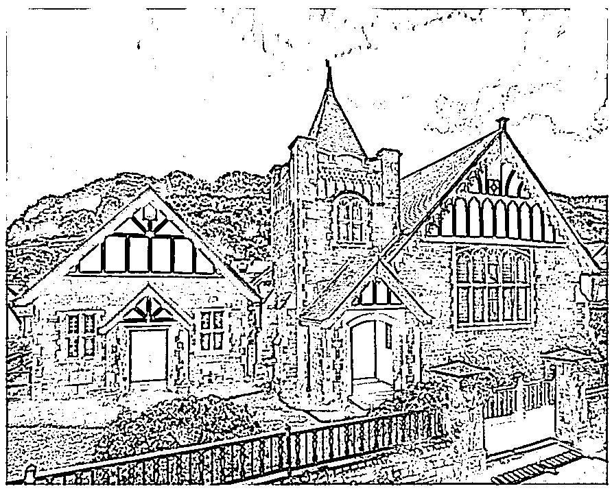 Church Stencil