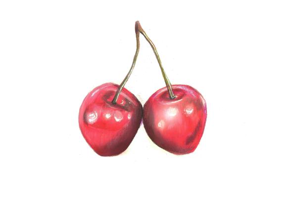 Cherries - pencils