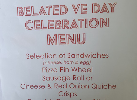 Belated VE Day Lunch