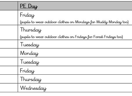 PE days