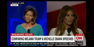 Did Trumps Wife Copy Michelle Obama's Speech?