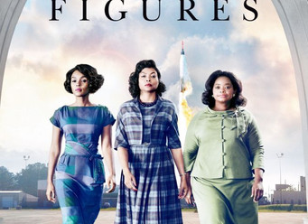 Hidden Figures Movie starring Tariji P. Henson, Octavia Spencer & Janelle Monae
