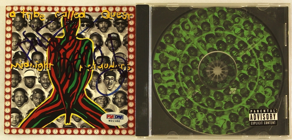 Signed Midnight Marauders Album