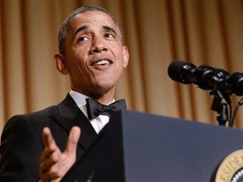 President Obama's final Correspondents Dinner