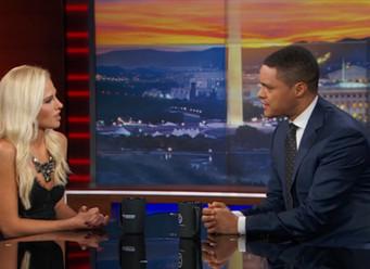 Trevor Noah Tomi Lahren Daily Show appearance