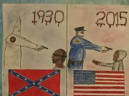 Kentucky Student drawing comparing KKK to Police sparks controversy